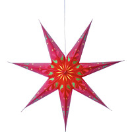 Paperitähti Star Trading Siri Ø700mm punainen