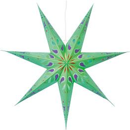Paperitähti Star Trading Siri Ø700mm vihreä