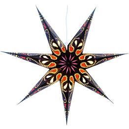 Paperitähti Star Trading Siri Ø700mm musta