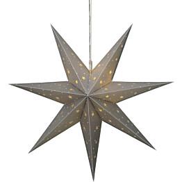 Tähtikoriste Star Trading Alice Ø600x180mm hopea