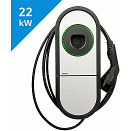 Sähköauton latauslaite Ensto One Home EVH323-HC000 IP54 3X32A T2 kiinteällä 5m kaapelilla_1