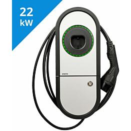Sähköauton latauslaite Ensto One Home EVH323-HCR00 RCBO IP54 3X32A T2 kiinteällä 5m kaapelilla_1