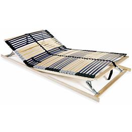 Sängyn sälepohja 100x200 cm 42 säleellä 7 vyöhykettä_1