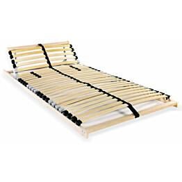 Sängyn sälepohja 28 säleellä 7 vyöhykettä 80x200 cm_1