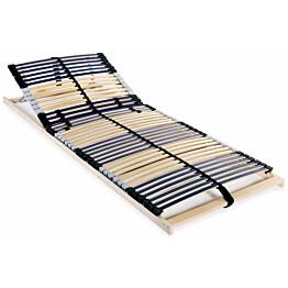 Sängyn sälepohja 42 säleellä 7 vyöhykettä 80x200 cm_1