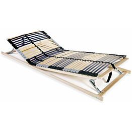 Sängyn sälepohja 90x200 cm 42 säleellä 7 vyöhykettä_1
