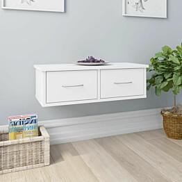 Seinälaatikkohylly valkoinen 60x26x18,5 cm lastulevy_1