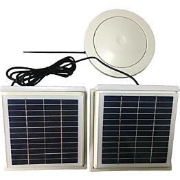 Aurinkopaneelipuhallin Thermex Sunmex Double