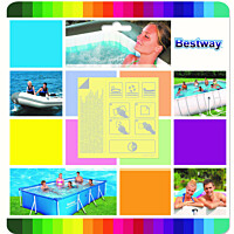 Paikkaustarrat Bestway vedenalaiseen käyttöön 65x65 mm 10 kpl