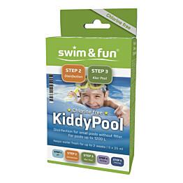 Allaspuhdistuspussi Swim & Fun Kiddy Pool 10 kpl klooriton