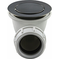 Pohjaventtiili Pop-up Tapwell 22200 Brushed Black Chrome amme