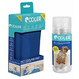 Koiran viilennyssetti Cooler S-kokoinen matto ja S/M- kokoinen huivi
