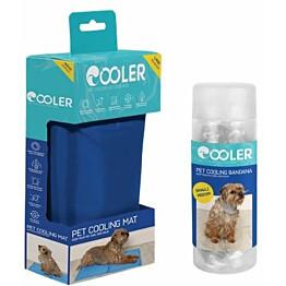 Koiran viilennyssetti Cooler M-kokoinen matto ja S/M- kokoinen huivi