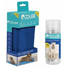 Koiran viilennyssetti Cooler M-kokoinen matto ja L/ x L- kokoinen huivi