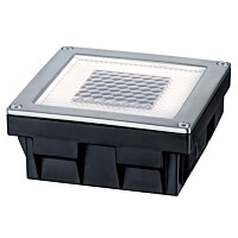 Maaspotti Paulmann Special Solar Cube LED aurinkokennolla 100x100mm teräs
