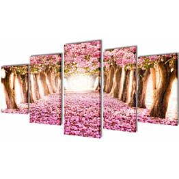 Taulusarja kirsikankukinto 100 x 50 cm_1