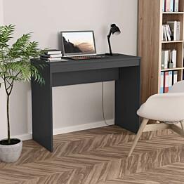 Työpöytä harmaa 90x40x72 cm lastulevy_1