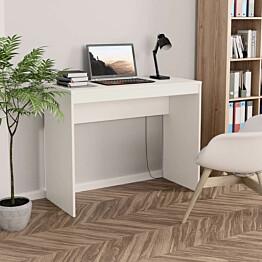 Työpöytä valkoinen 90x40x72 cm lastulevy_1