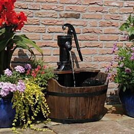 Ubbink puinen tynnyri puutarhan vesikoriste_1