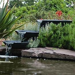 Ubbink puutarhan vesiputous simpukat pumpulla 35/45/55 cm_1