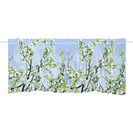 Verhokappa Vallila Omenapuu 60x250cm sininen/vihreä