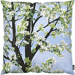 Tyynynpäällinen Vallila Omenapuu 43x43cm sininen