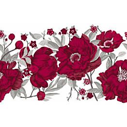 Kappaverho Vallila Rakkaustarina 60x250 cm punainen