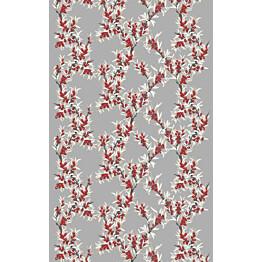 Sivuverho Vallila Merikataja 140x240 cm punainen