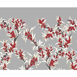 Kappaverho Vallila Merikataja 60x250 cm punainen