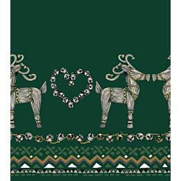 Kappaverho Vallila Olkipukki 60x250 cm vihreä