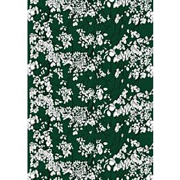Vahaliina Vallila Lehtisade 145x250 cm vihreä