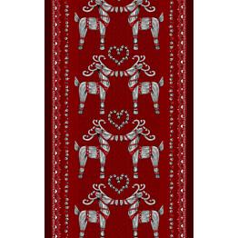 Vahaliina Vallila Olkipukki 145x250 cm punainen