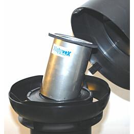 Hajusuodatin HajuveX 1330 Ø110/160 mm musta