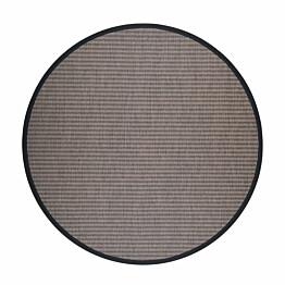 Matto VM Carpet Kelo mittatilaus pyöreä ruskea/musta