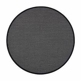 Matto VM Carpet Lyyra2 mittatilaus pyöreä musta