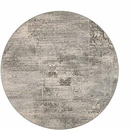 Matto VM Carpet Rustiikki mittatilaus pyöreä harmaa
