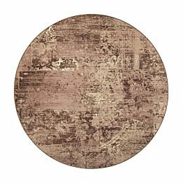 Matto VM Carpet Rustiikki mittatilaus pyöreä beige