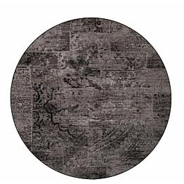Matto VM Carpet Rustiikki pyöreä eri kokoja musta