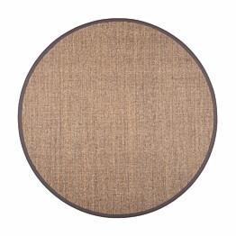 Matto VM Carpet Sisal pyöreä eri kokoja harmaa-mix