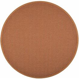 Matto VM Carpet Valkea mittatilaus pyöreä kupari