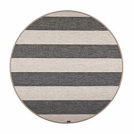 Matto VM Carpet Viiva mittatilaus pyöreä musta-beige