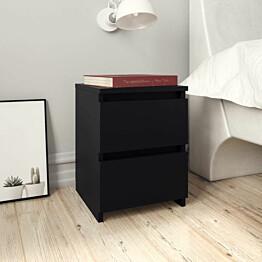 Yöpöytä musta 30x30x40 cm lastulevy_1