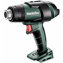 Akkukuumailmapuhallin Metabo HG 18 LTX 500 18V ilman akkua