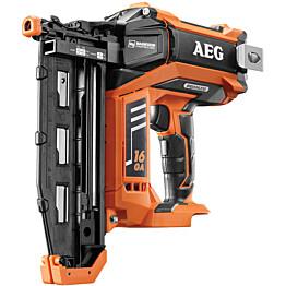 Akkuviimeistelynaulain AEG Powertools B16N18-0 PRO18V 16G ei sis. akkua/laturia