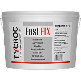 Akryyliliima Tycroc Fast FIX 15 kg