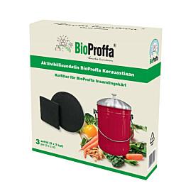 Aktiivihiilisuodatinpaketti BioProffa 3x2 kpl