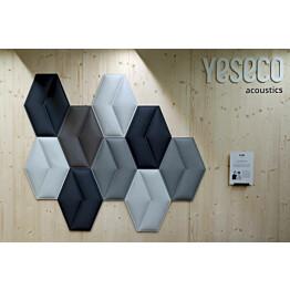 Akustiikkapaneeli Yeseco Aline 43x58 cm eri värejä