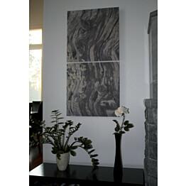Akustiikkataulu Yeseco Quiet 120x60 cm kollaasi 2 kpl 60x60 cm eri kuvia (myös omalla kuvalla)