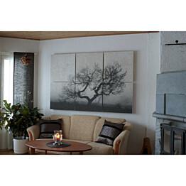 Akustiikkataulu Yeseco Quiet 180x120 cm kollaasi 6 kpl 60x60 cm eri kuvia (myös omalla kuvalla)