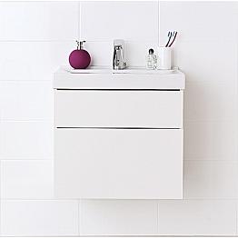 Alakaappi IDO Trend 590x500x485 mm 2 laatikkoa valkoinen